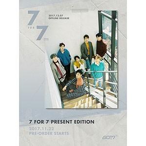 韓国音楽 GOT7 - 7 FOR 7 PRESENT EDITION (バー...