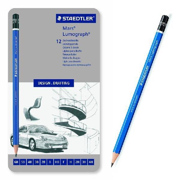 【ステッドラー】STAEDTLER 鉛筆 ルモグラフ 製図...