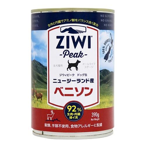 【ジウィピーク】 ドッグ缶ベニソン390g ZiwiPeak...