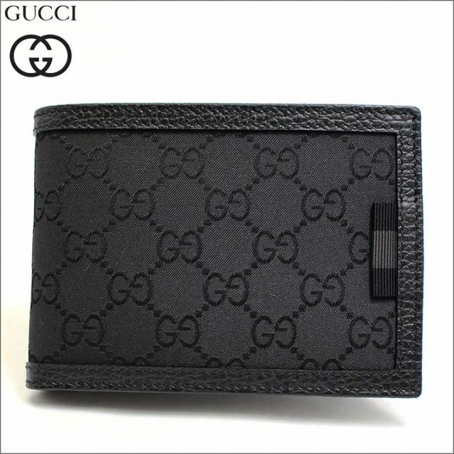 [あす着]グッチ GUCCI 財布 二つ折り財布 ウェビ...