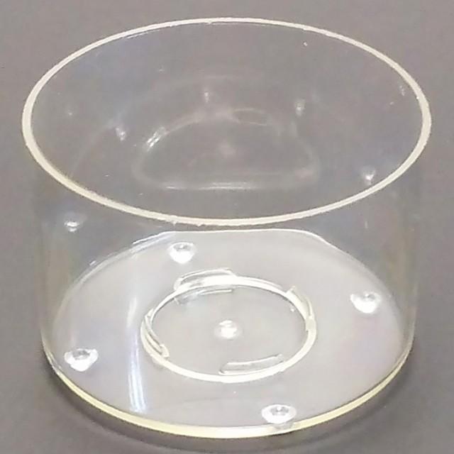 ティーライトキャンドル用 クリアカップ 直径40mm...