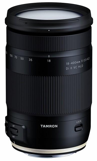 TAMRON 高倍率ズームレンズ 18-400mm F3.5-6.3 DiII VC HLD キヤノン用 APS-C専用 B02