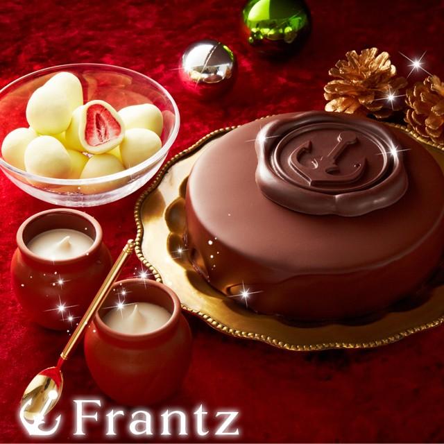 クリスマス ケーキ ギフト スイーツ お歳暮 / 魔法の生チョコザッハと壷プリンと苺トリュフのセット/ザッハトルテ