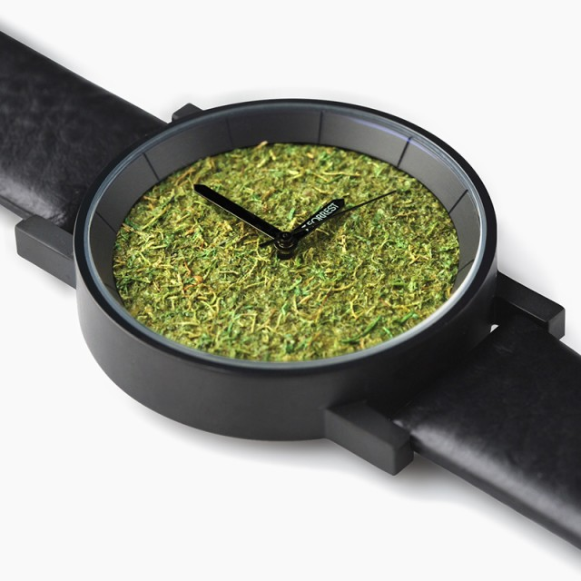 【送料無料】 森の腕時計 Metal Black Forrest メ...