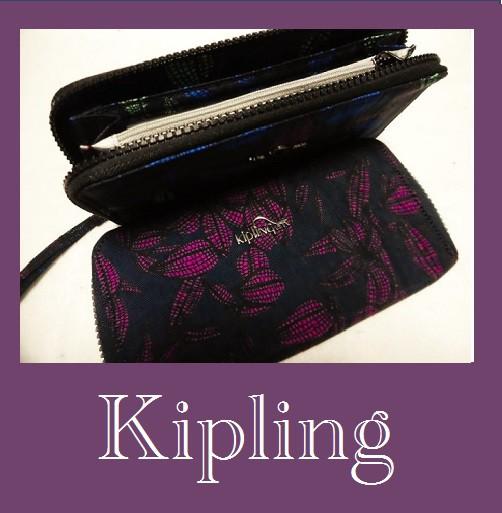 Kiplingキプリングラウンド長財布