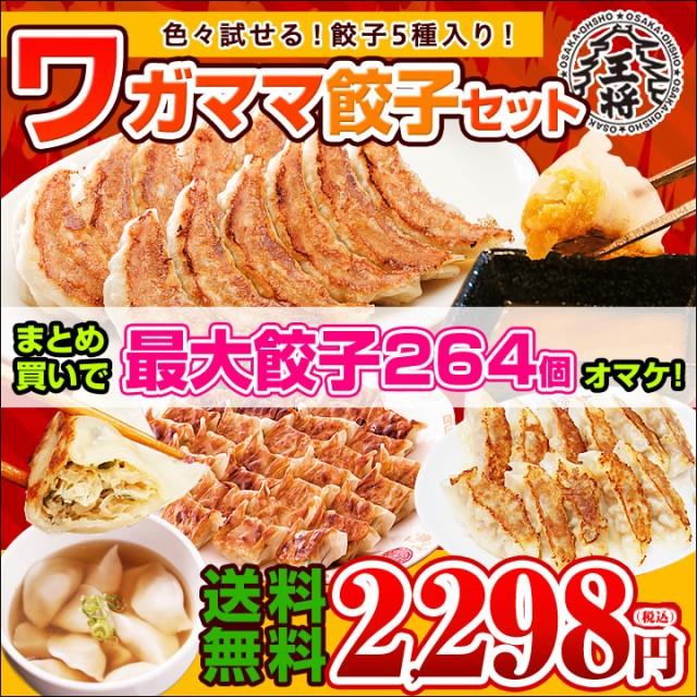 ≪最大264個オマケ≫餃子計66個!送料無料 大阪王...
