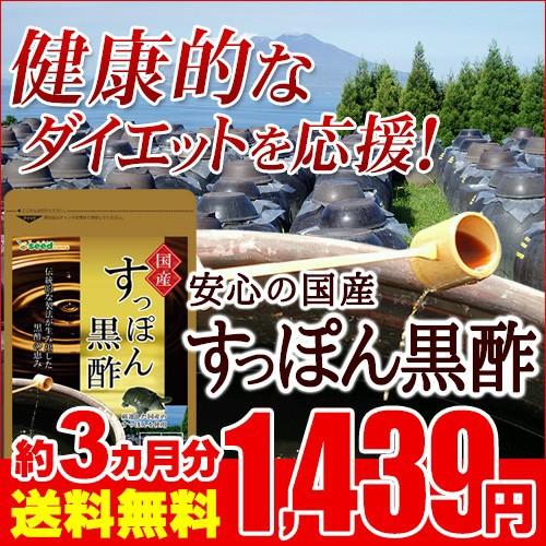 黒酢 国産 すっぽん黒酢 約3ヵ月分