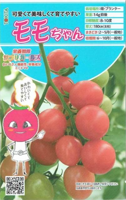 トキタ種苗 ミニトマト モモちゃん 約8粒【郵...