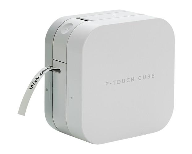 ブラザー工業 ラベルライター P-TOUCH CUBE PT-P3...
