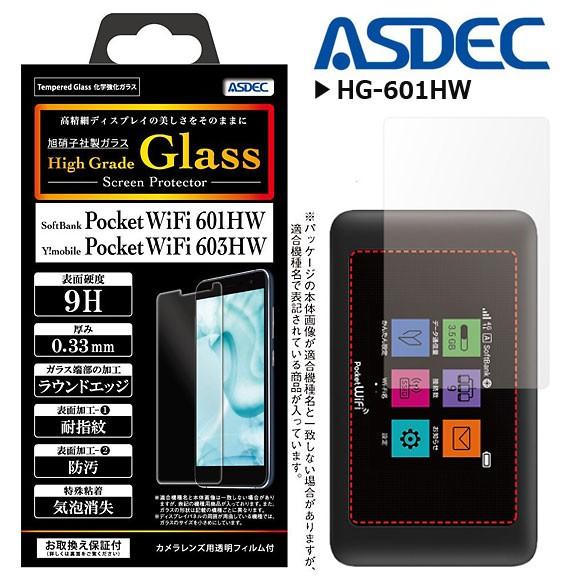 Pocket WiFi 601HW/ 602HW/ 603HW 液晶ガラスフィ...