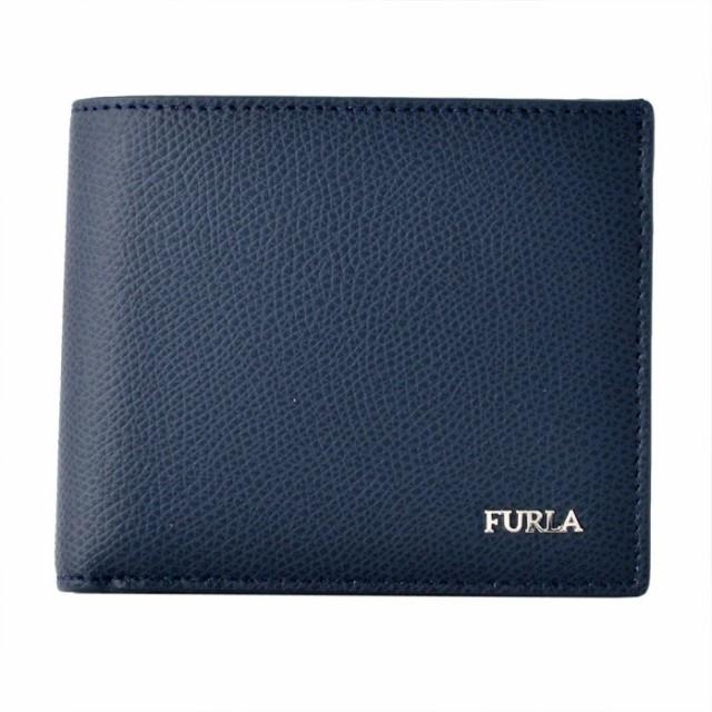 フルラ FURLA 938139 BLU メンズ 小銭入れ付 二つ...