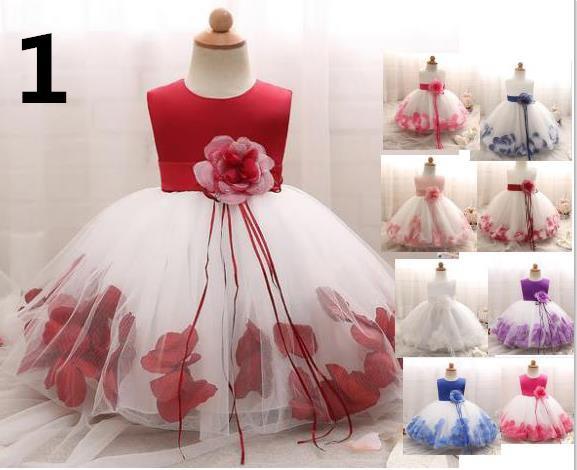 10色 子供ドレス フォーマル ドレス 演出 お姫...