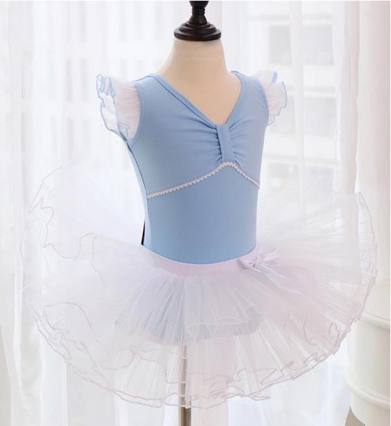 子供ダンス衣装 バレエ レオタード  女の子 子供...