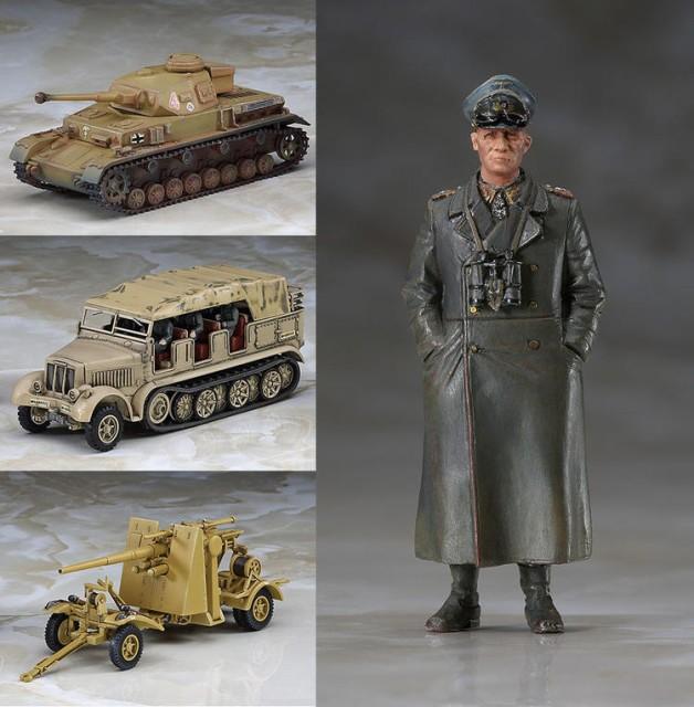 ハセガワ 1/72 【30046】IV号戦車F2型 & 8tハー...