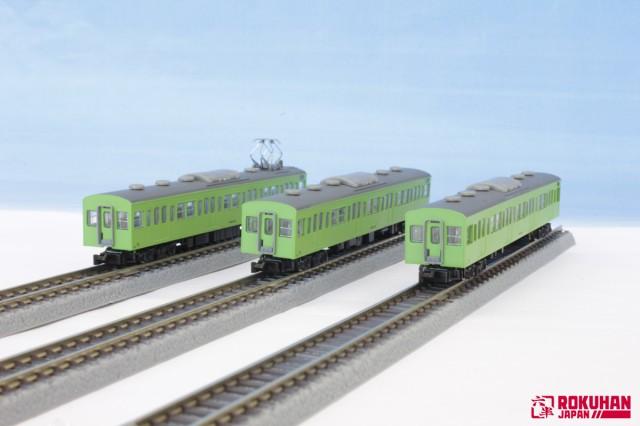 ロクハン  [Z] T022-6 国鉄103系 ウグイス 山手...