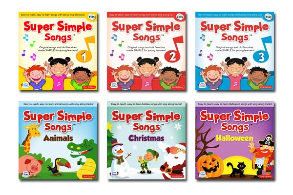 super simple songs cd 123animalschristmas halloweenwowma