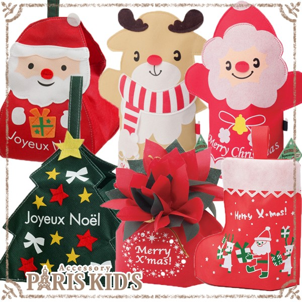ラッピング用品 クリスマス 袋 1枚 ギフト プチギ...