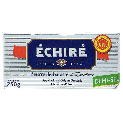 エシレバター 板 有塩 250g | ECHIRE
