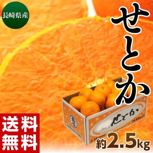 《送料無料》長崎産「せとか」バラ詰 約2.5キロ...