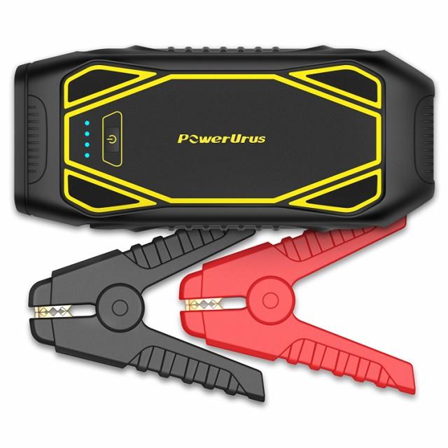 PowerUrus ジャンプスターター IP6 1600Aピーク電...
