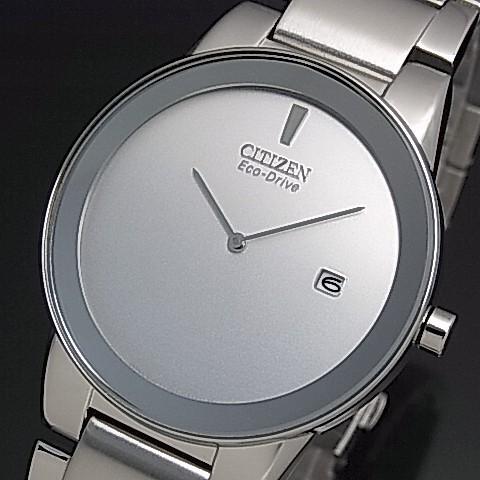 【CITIZEN/シチズン】メンズ ソーラー腕時計 シル...