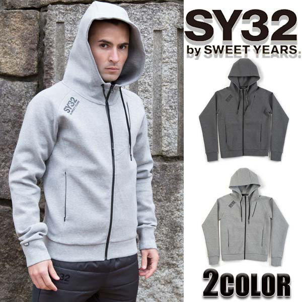 SY32 by SWEET YEARS パーカー メンズ ジップパー...