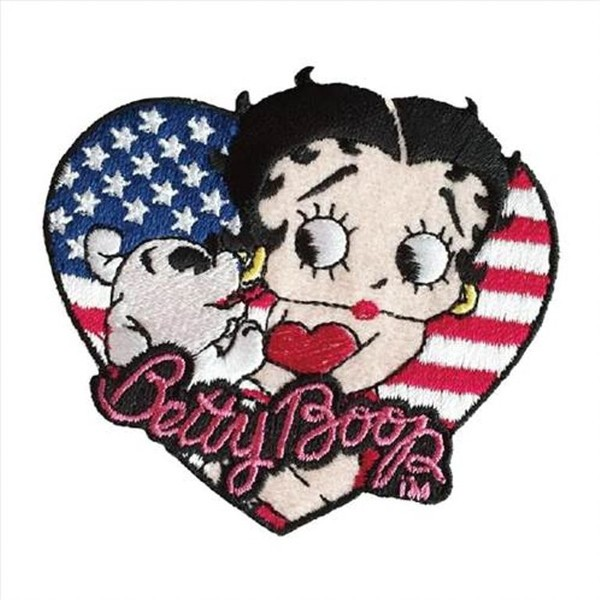 ベティーちゃん Betty Boop ワッペン (BTAP71:ア...