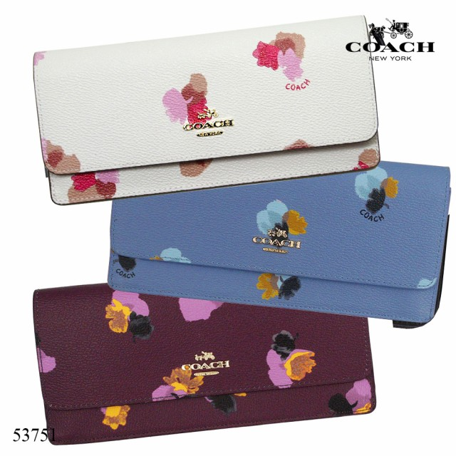 コーチ COACH 二つ折り財布 53751 コーンフラワー...