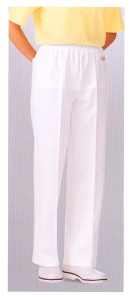 830-10 ニットパンツ 全1色 (厨房 調理 白...