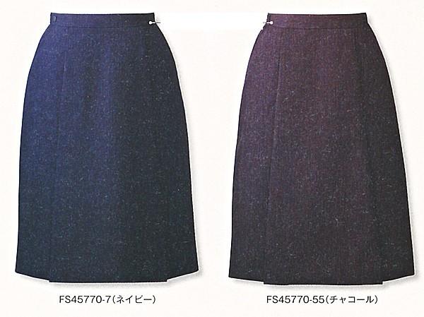 FS45770-7-55 アジャスター付プリーツスカート(...