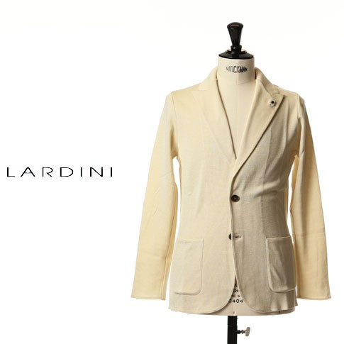 LARDINI ラルディーニ ジャケット コットン ニッ...