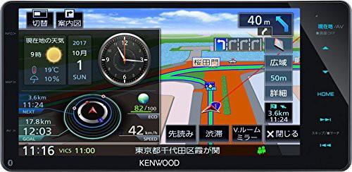 ケンウッド(KENWOOD) カーナビ 彩速ナビ MDV-M705...