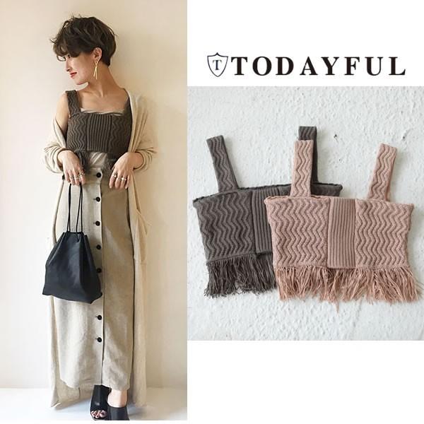TODAYFUL トゥデイフル LIFE's ライフズ Knit Fri...