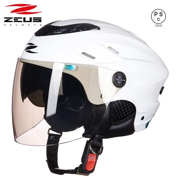 バイクヘルメット  ヘルメット ジェット 3/4ヘル...