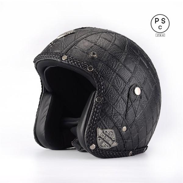 ジェット 3/4ヘルメット 男女共用ヘルメット 春 ...