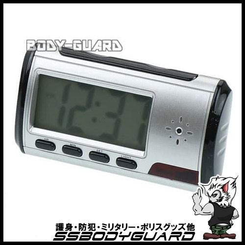 目覚まし時計型ビデオカメラ リモコン付き