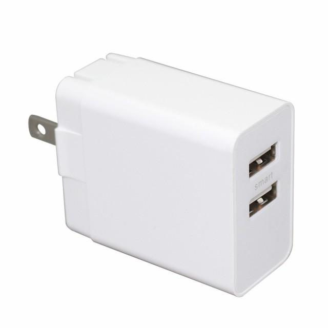 USB ACアダプター 2ポート 同時充電 充電器 iPhon...