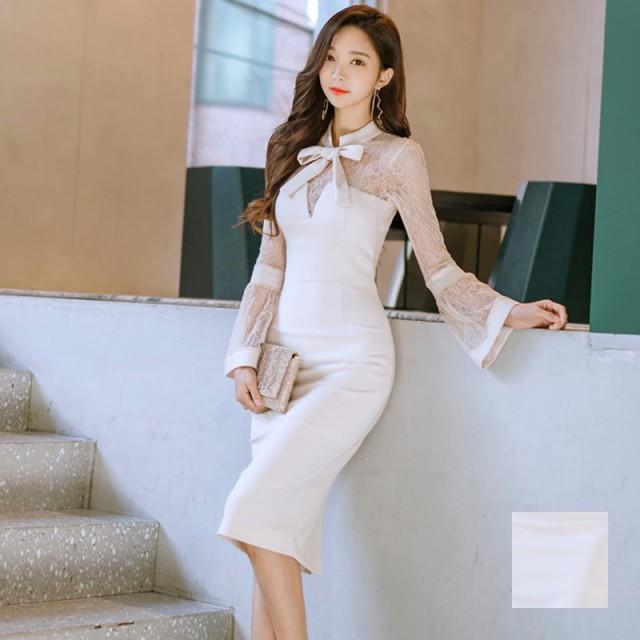 【取寄せのみ】エレガントワンピースドレス