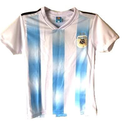 子供用 K032 18 アルゼンチン 水色 ゲームシャツ ...
