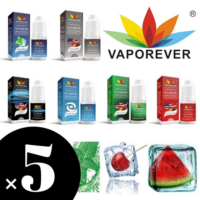 [5本セット] 電子タバコ リキッド VAPE Vaporever...