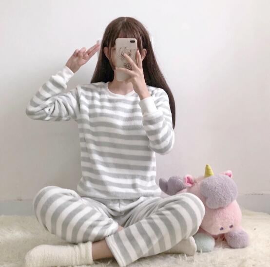 【新作】全3色 パジャマ レディース 女性 可愛...