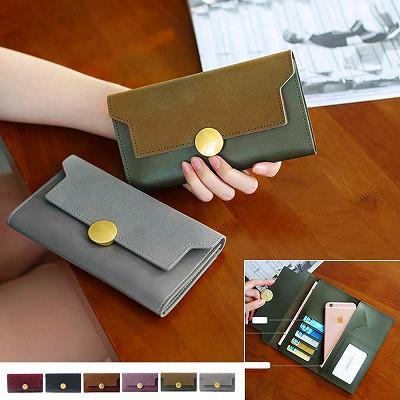 三つ折り財布 レディース 長財布 かぶせ カード入...