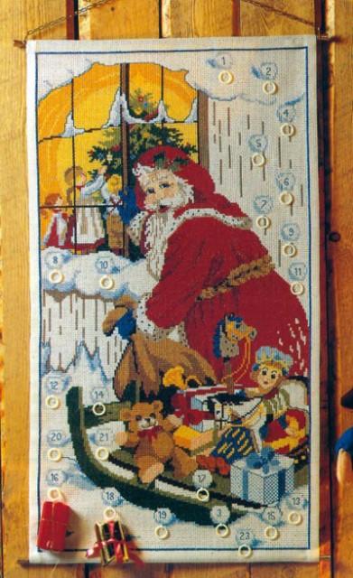 OOE クロスステッチ刺繍キット 66201 クリスマス ...