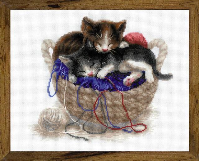 RIOLISクロスステッチ刺繍キット No.1724 「Kitte...