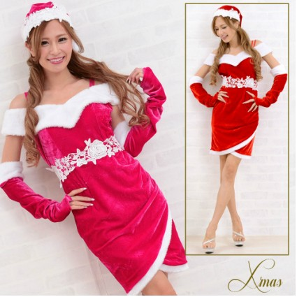 サンタ衣装 サンタ 衣装 コスプレ サンタコス セクシー Jewel ジュエル ワンピース