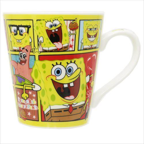 ◆スポンジボブ 陶器製MUG/ブロック,マグカップ ...