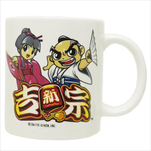 ◆新・吉宗 ストレートマグ/吉宗&姫  (パチンコ...