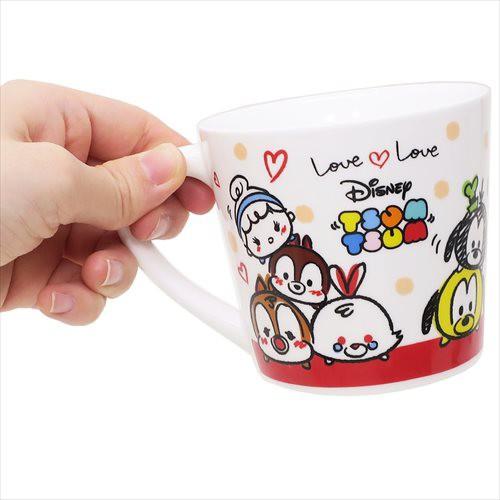 06171e809ee51 ディズニーツムツム マグカップ&ミニタオルセット ラブラブ (ディズニー)マグカップ おしゃれ