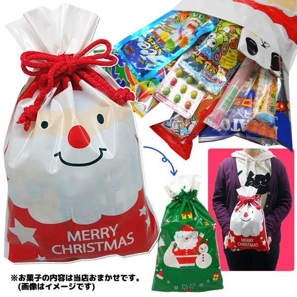 CR-OKS18/クリスマスオリジナル巾着お菓子パック/...
