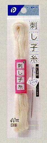 【メール便対応】刺し子糸 (きなり)